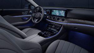 Interior Mercedes E-class